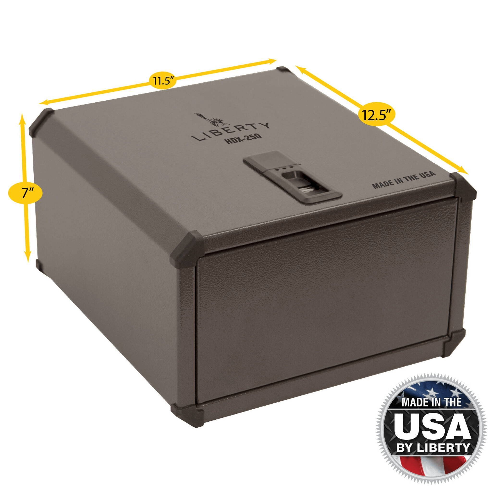 Liberty Safe HDX-250 biometric smart vault