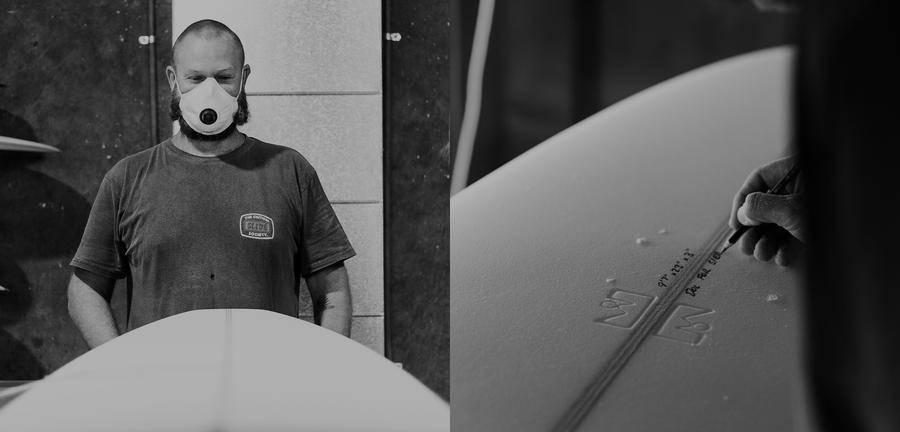 FCS X THOMAS SURFBOARDS