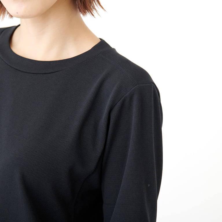 C3fit(シースリーフィット)/リポーズ Tシャツ/ブラック/WOMENS