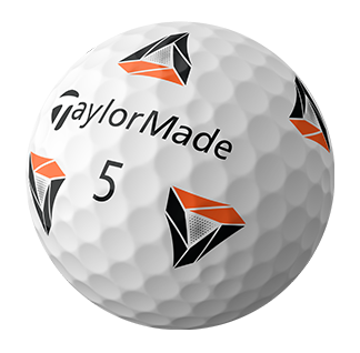 TaylorMade TP5 pix Golf Ball Hero