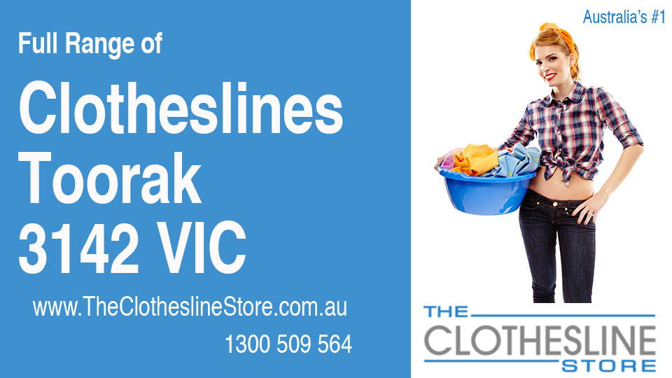 New Clotheslines in Toorak Victoria 3142