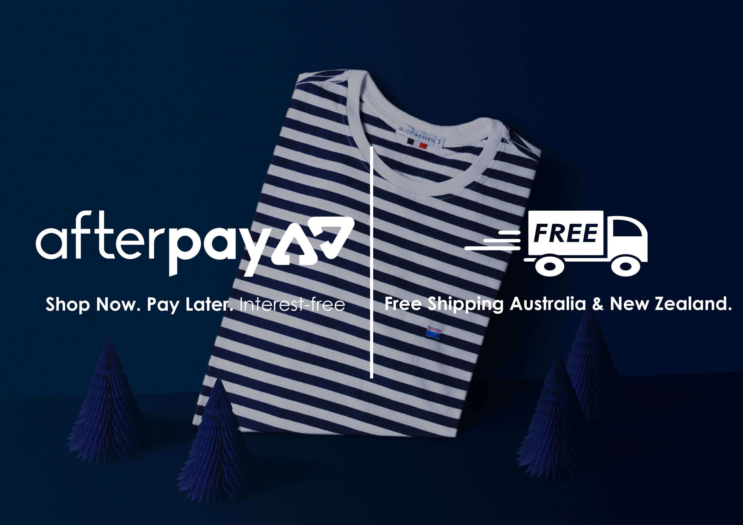 How to use Afterpay – Joe Weaven