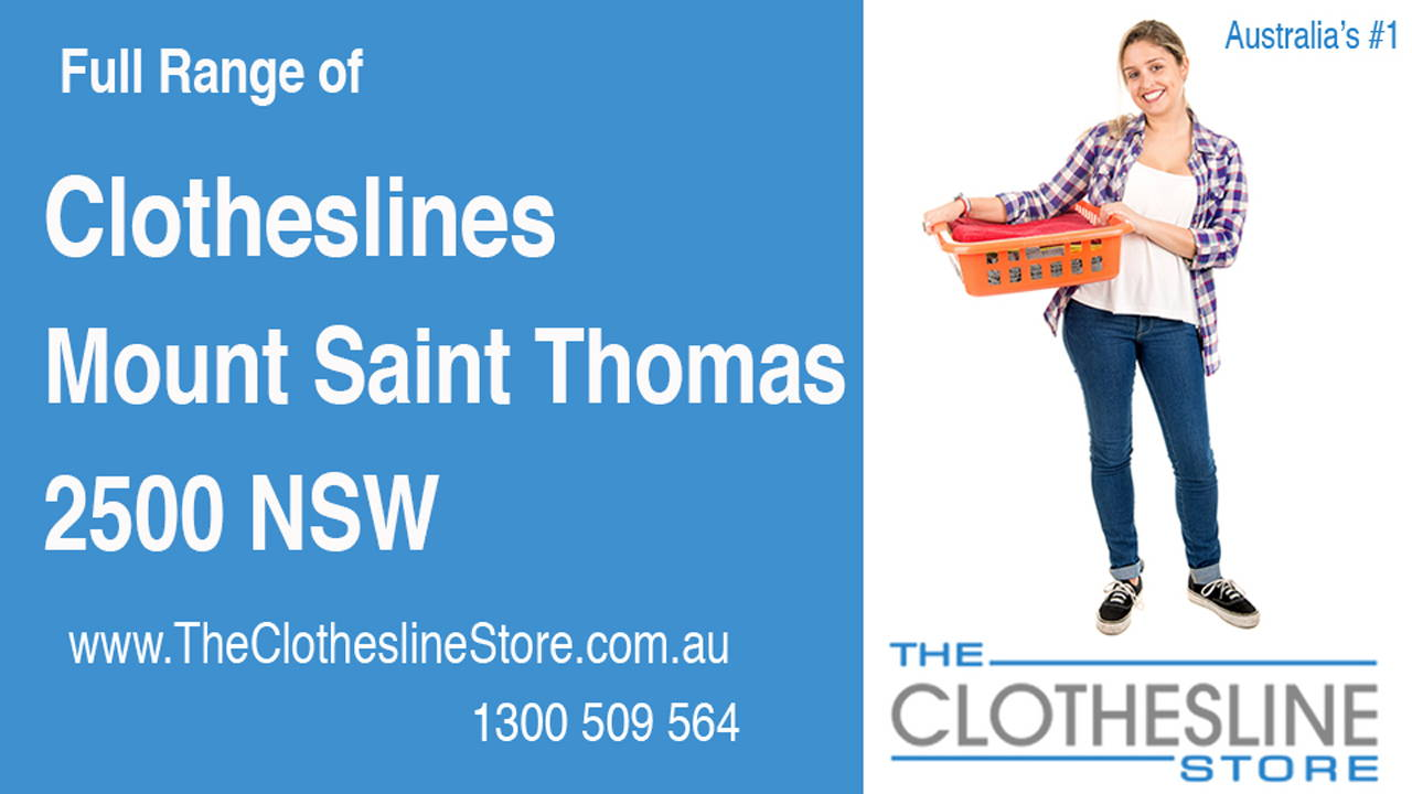 Clotheslines Mount Saint Thomas 2500 NSW