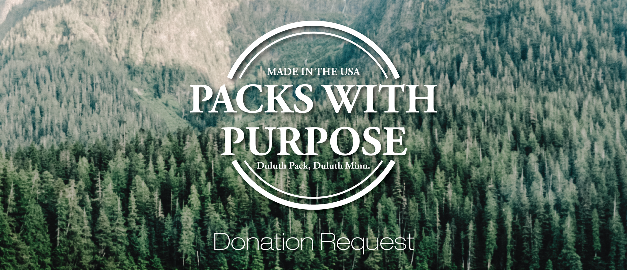 Packs With Purpose Donation Request