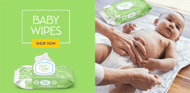 Nice 'N Clean Baby Wipes - Shop Now