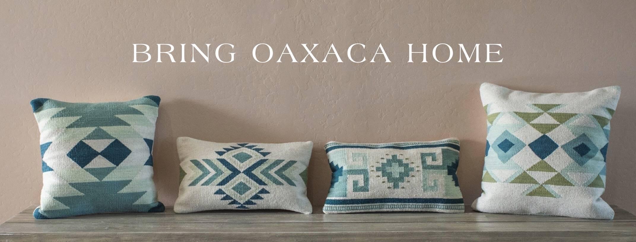 handwoven wool pillows mz