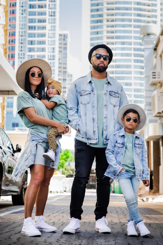 Family Twinning Fashion