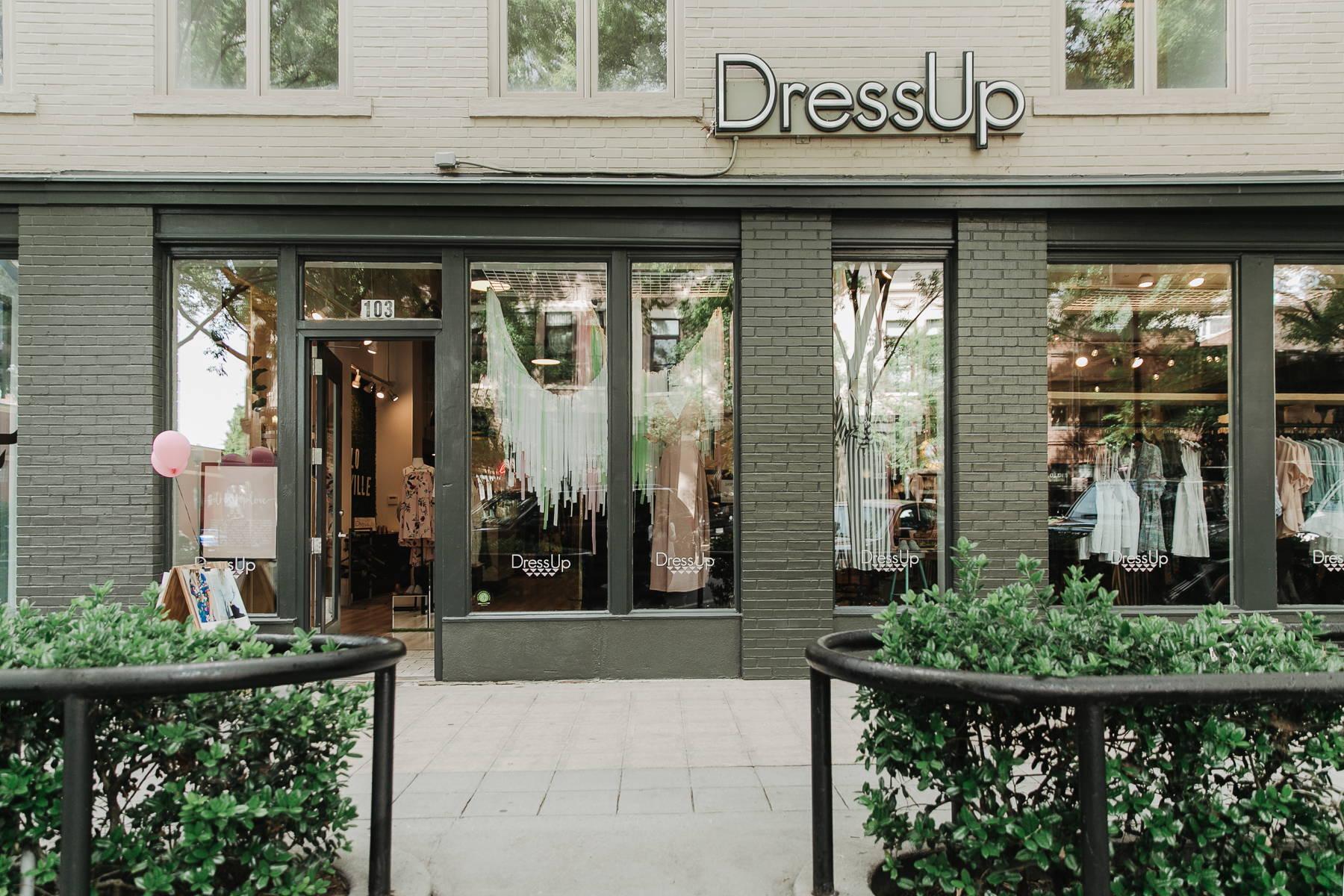 Dress Up Greenville storefront