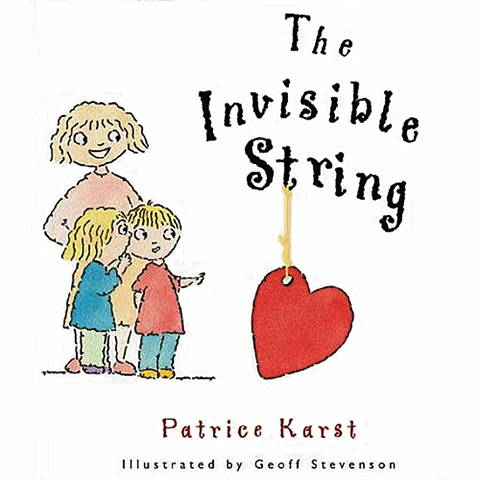The Invisible String Hardback Book by Patrice Karst