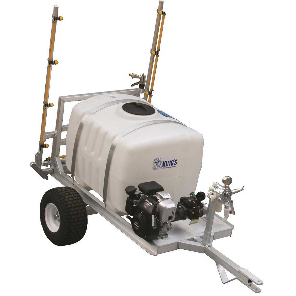 100-gal. Two-Wheel Sprayer with 12'L Boom from Kings Sprayers
