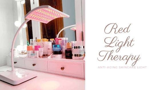 red light therapy anti aging skincare light