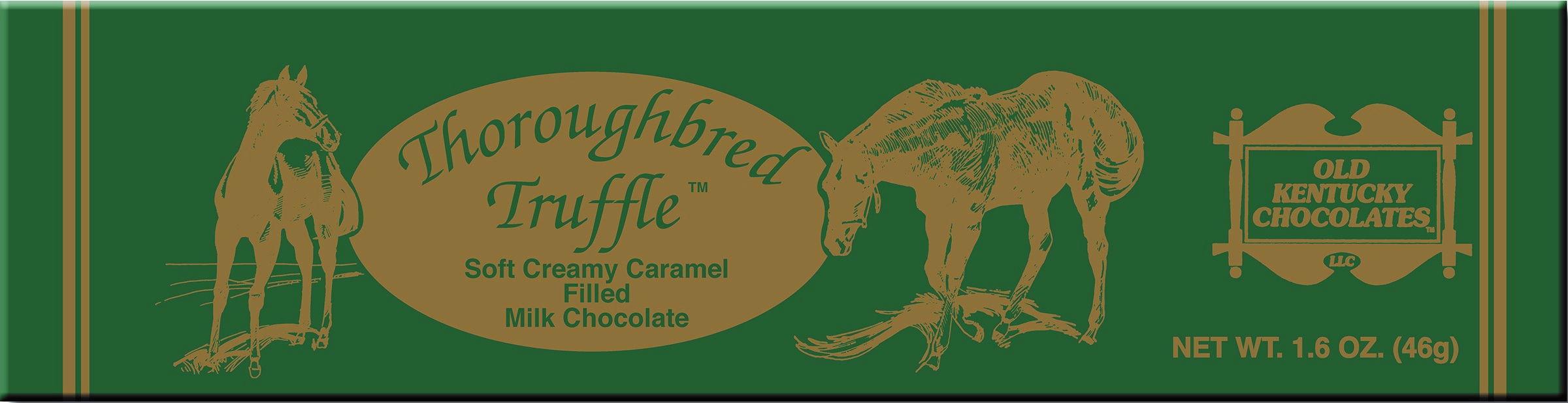 Old Kentucky Chocolates Thoroughbred Truffle Caramel Fundraising