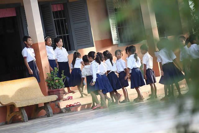 Children Link up for School