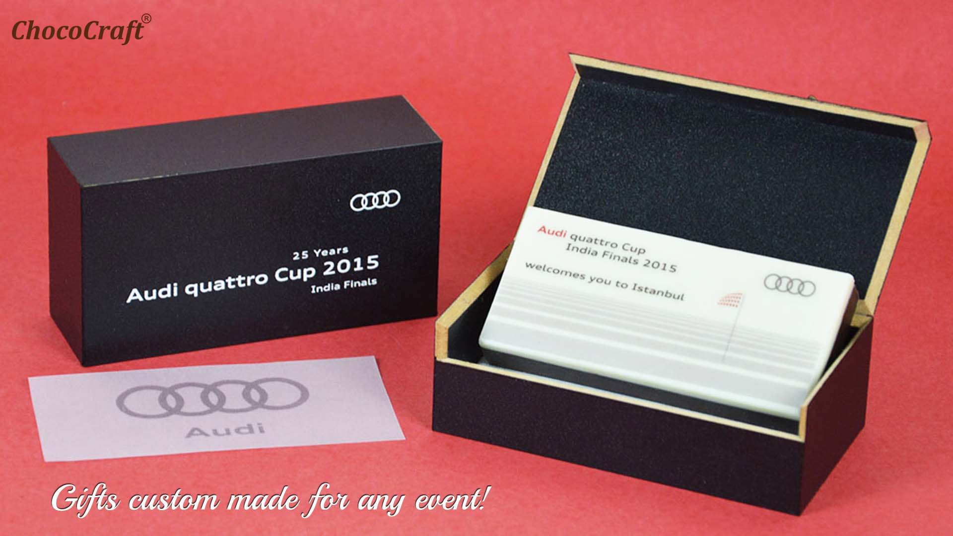 Client Gifts for Audi Golf Event