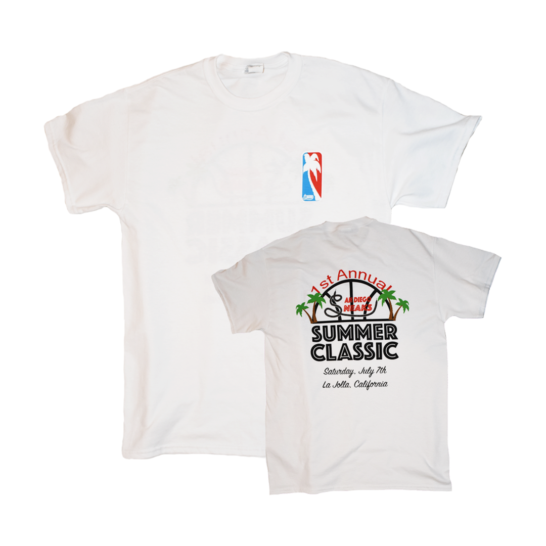 The commemorative tee for the first ever Summer Classic. 2018.