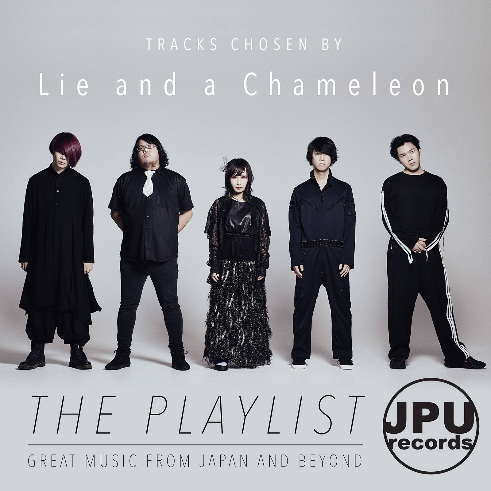 Lie and a Chameleon JPU Records Playlist image. (嘘とカメレオン)