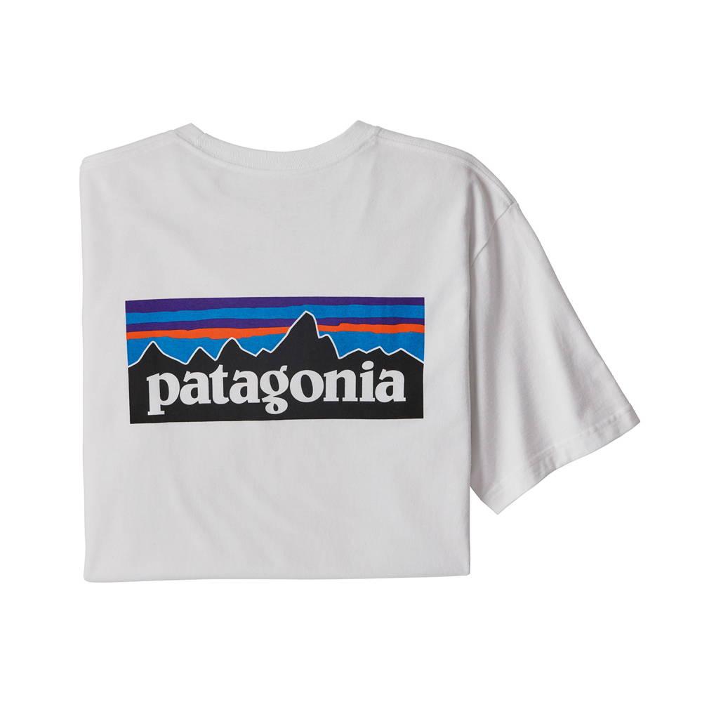 patagonia(パタゴニア)/P-6ロゴ レスポンシビリティー/ホワイト/MENS