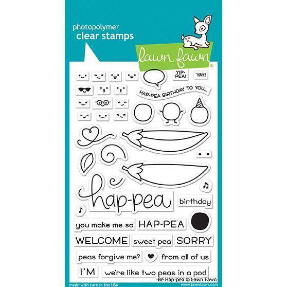 Lawn Fawn Hap-pea stamps