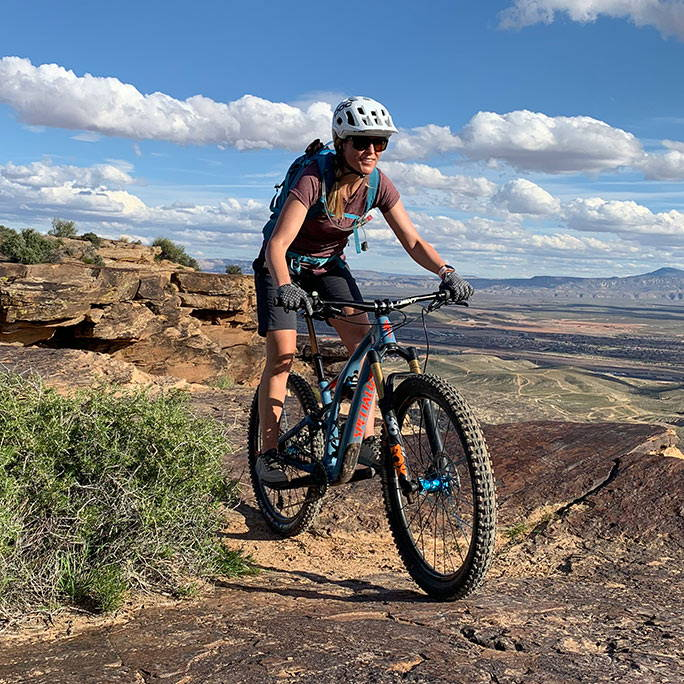 Jamie Bangerter Mountain Bike Coach