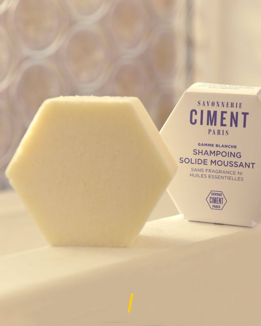 Le shampoing solide - Moussant