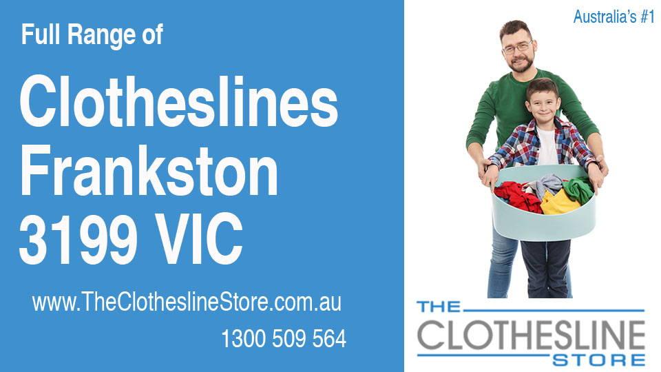 New Clotheslines in Frankston Victoria 3199