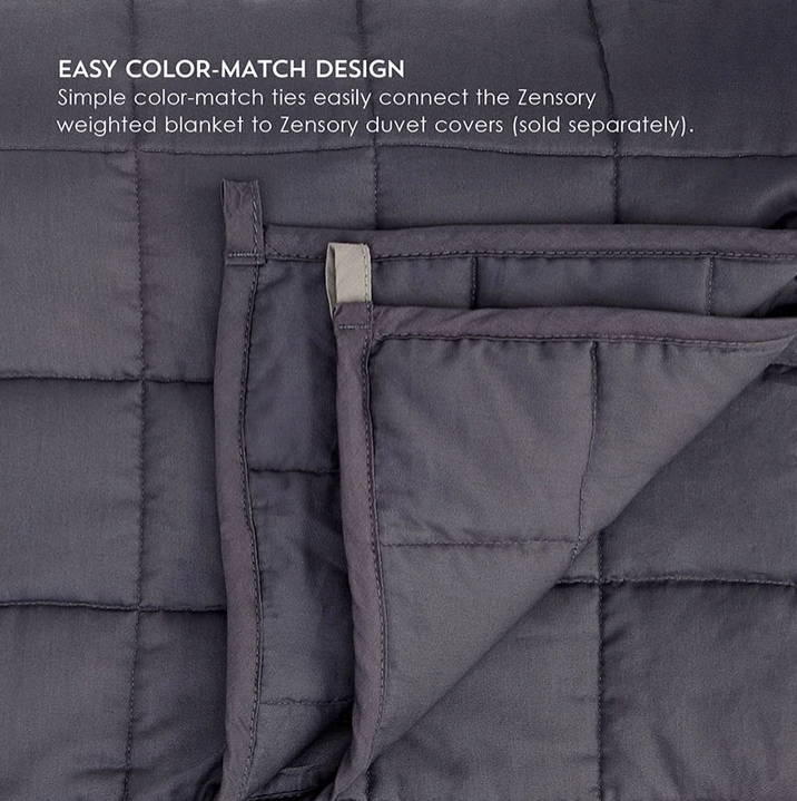 Therapeutic weighted blanket for adults