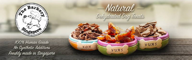 the barkery dehydrated air dried dog treats collection
