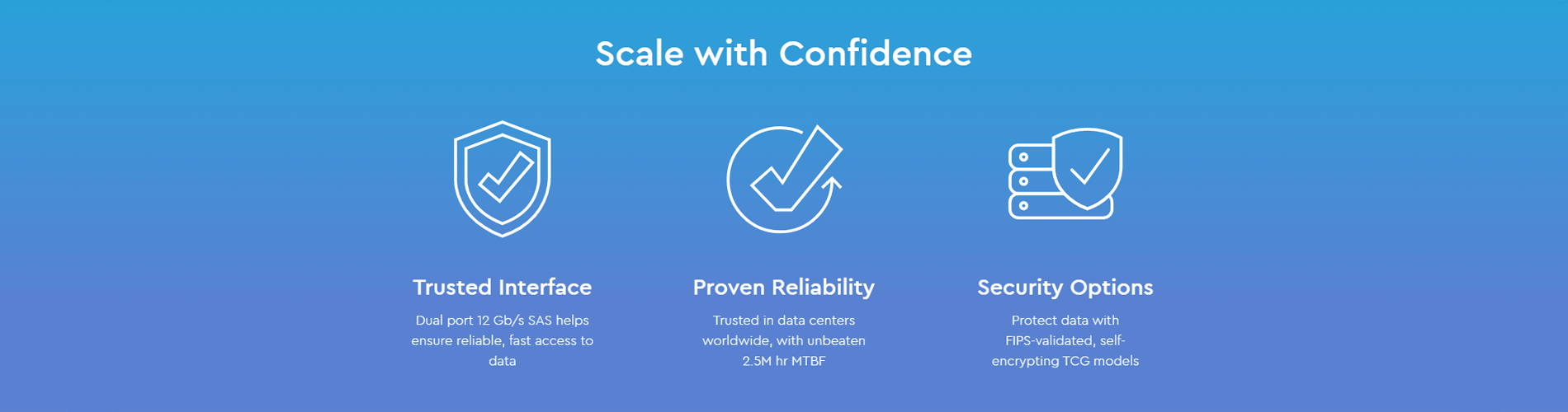 Scale with Confidence