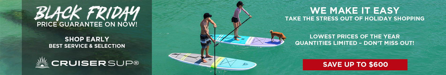 Paddle Board Two Pack | Clearance Sale | Cruiser SUP Fusion and Bliss Feather-Lite