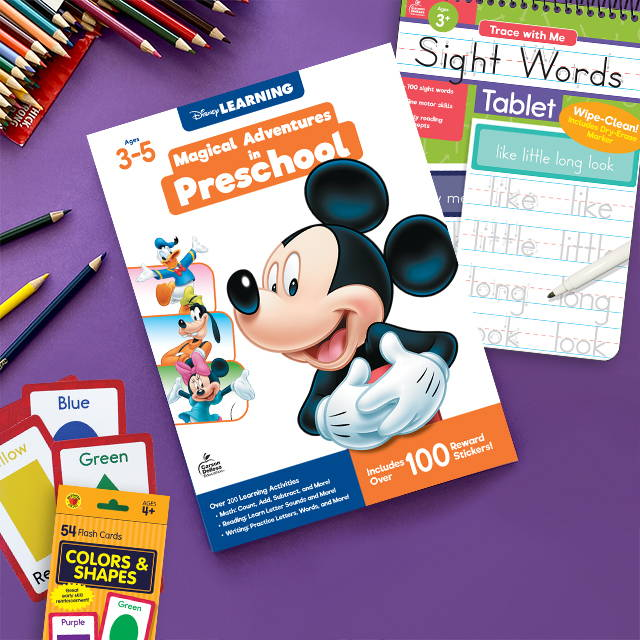 Early Learning products that help to continue learning at home