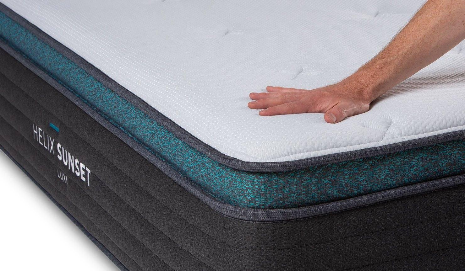 The Helix Luxe Mattress Plush Pillow Top