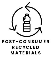 Post Consumer Recycled Materials Icon