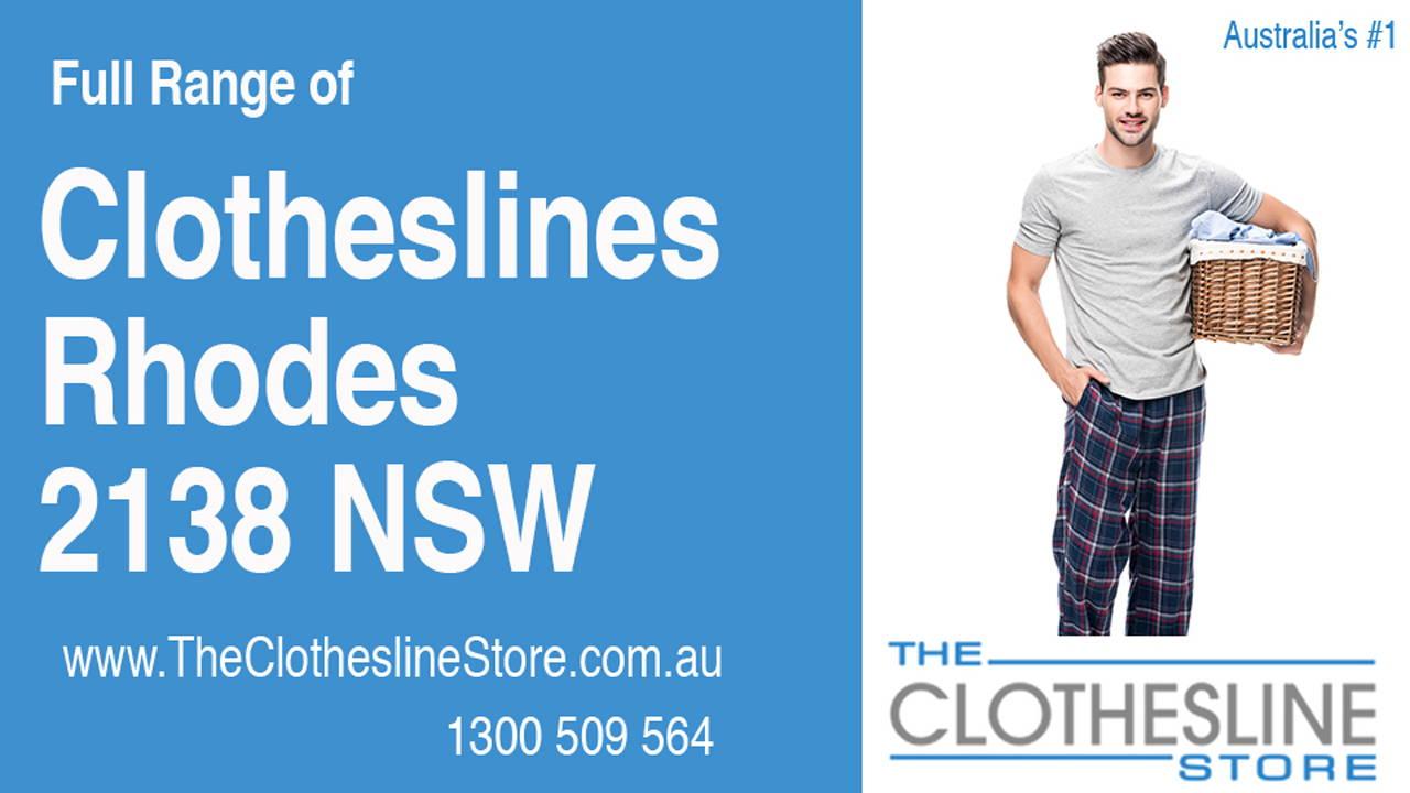Clotheslines Rhodes 2138 NSW