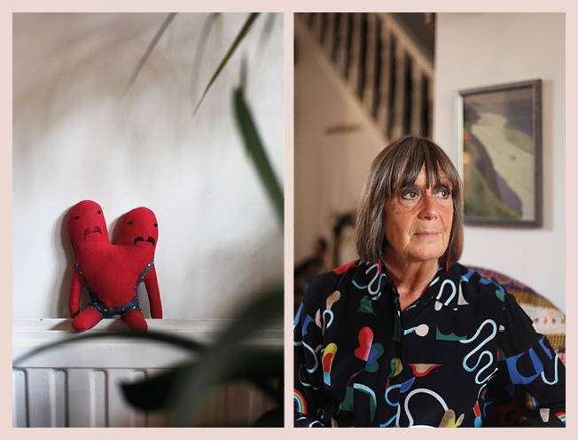 Things and People: Wendy and her Bobby Dazzler soft toy