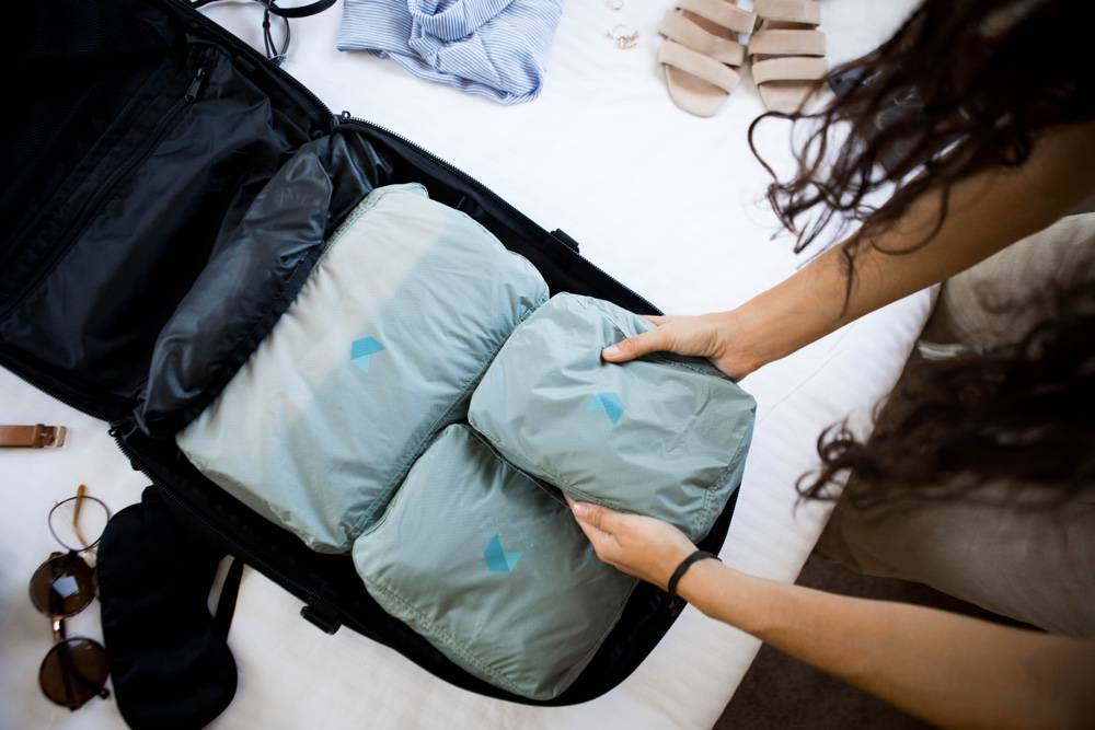 Minaal Packing Cubes - the best packing cubes for frequent travel