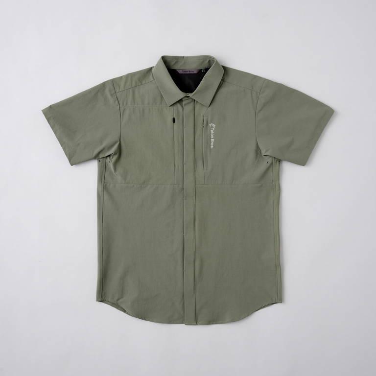 Teton Bros.(ティートンブロス)/ランシャツ/ダークグリーン/MENS