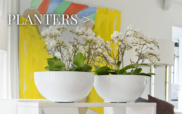 Planters from Pottery Pots & Capital Garden