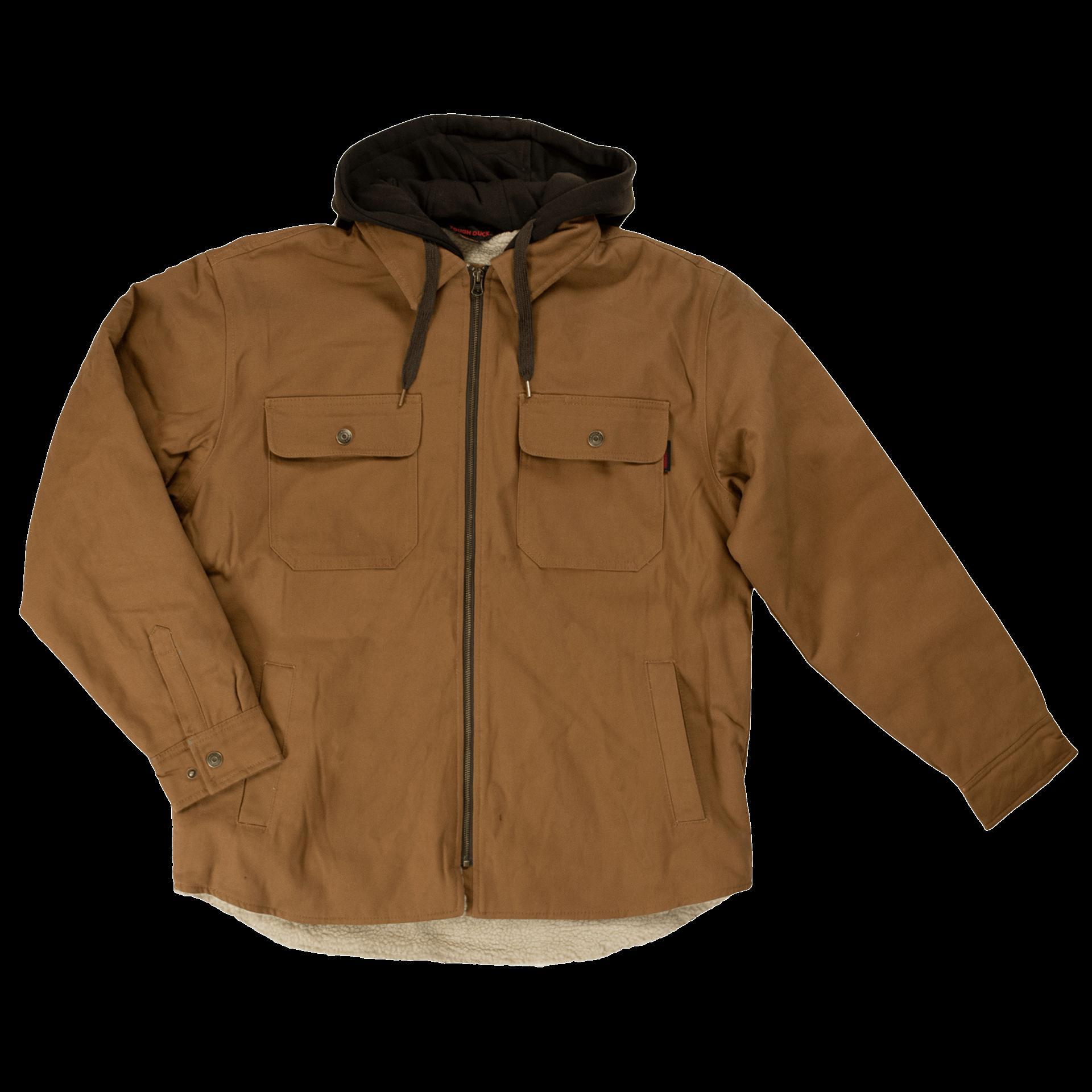 Tough Duck Sherpa Lined Duck Jac-Shirt WS03