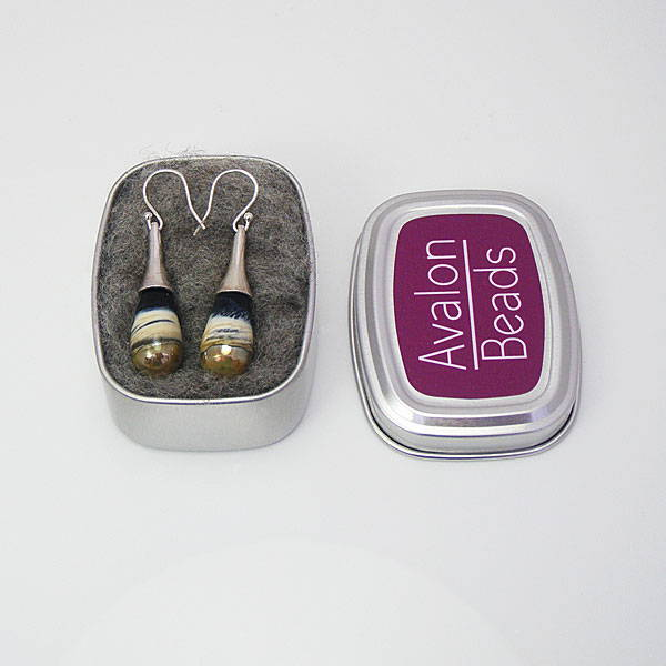 Labelled aluminium tin packaging