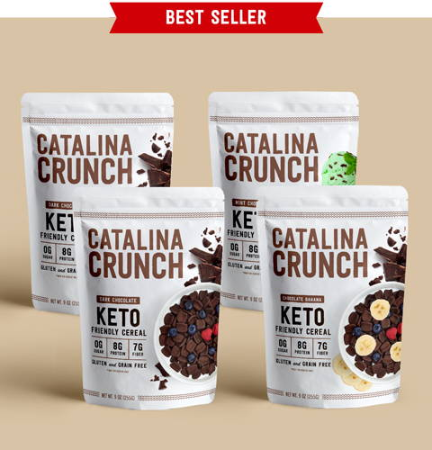 Keto Cereal Chocolate Lovers Variety Pack