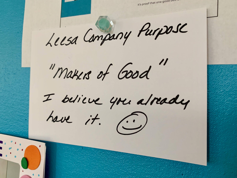 Leesa Culture Day Purpose Statement 11