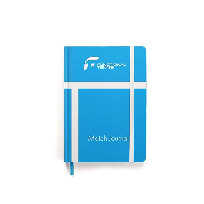 The Functional Tennis Match Journal Cover