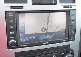 2010 Dodge Ram 2500 3500 GPS Navigation RER 730N Radio