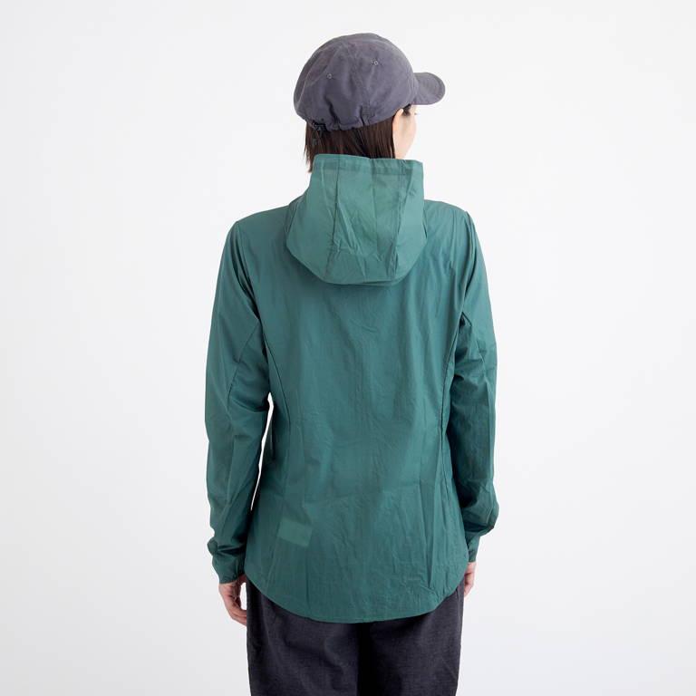patagonia(パタゴニア)/フーディニジャケット/グリーン/WOMENS