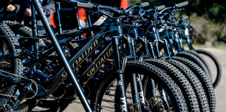 Bikes for law enforcement