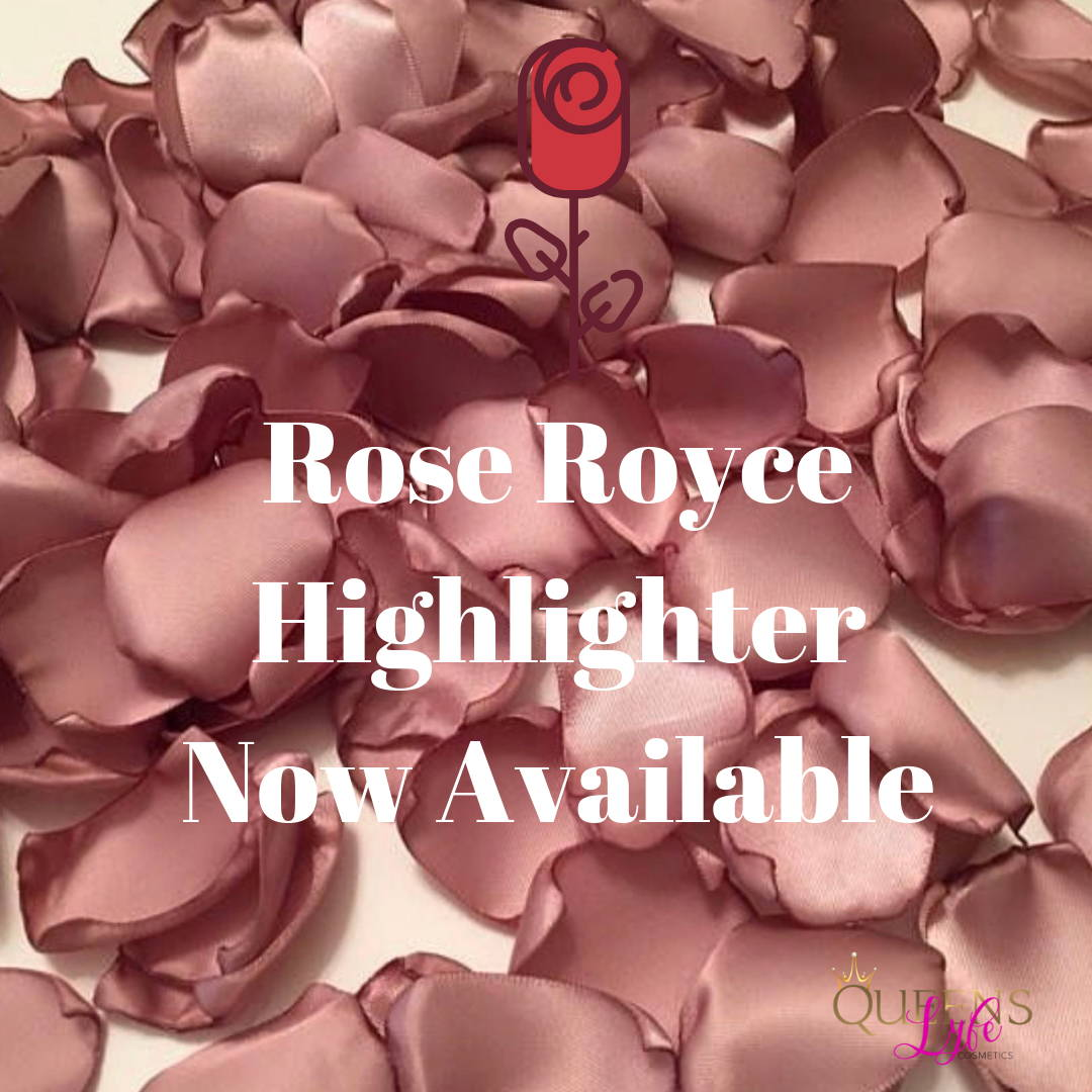 QueensLyfe Cosmetics Rose Royce Pressed Highlighter