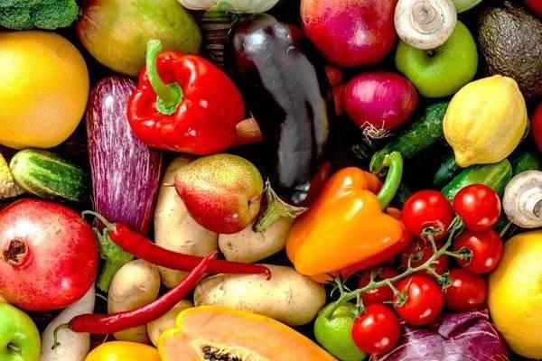 Fruits et légumes pour les carences en nutriments