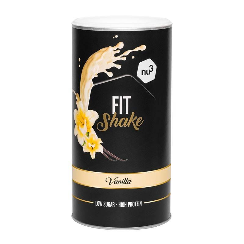 nu3 Fit Shake, vaniglia