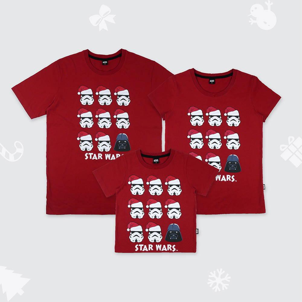 เสื้อครอบครัววันคริสต์มาสลาย Dark Side - Star Wars