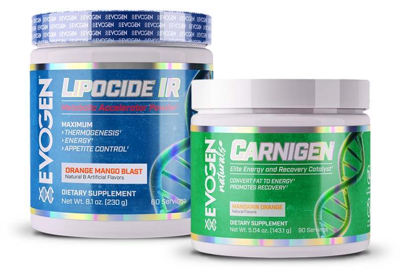 Shred Fast IR Stack – Naturals Carnigen + Lipocide IR